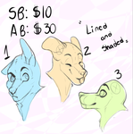[OPEN] Headshot YCH AUCTION by Vensauro