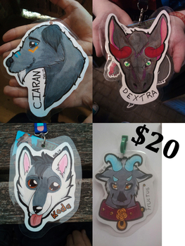 Doing traditional badges by Dakaido