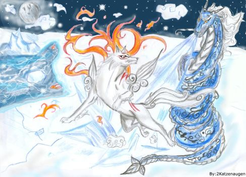 Fire VS Ice by Draco-Bellatrix