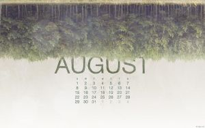 August 2010 Calendar by kriegs