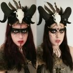 Tribal Witch (halloween makeup and costume) by deliablazquez