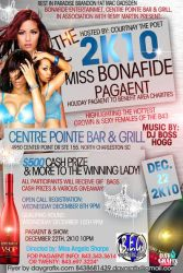 Ms Bonafide pagent flyer by mochadevil83
