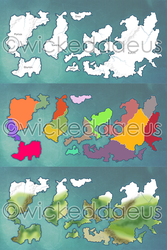 World Map by 01309