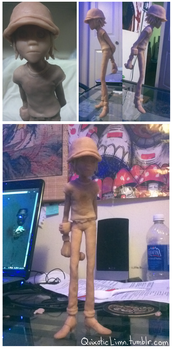 2D figure WIP by Spartichi