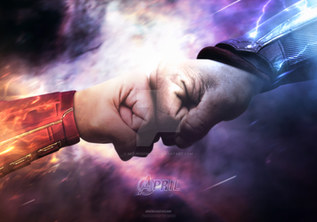 CAPTAIN MARVEL VS THOR by iMizuri