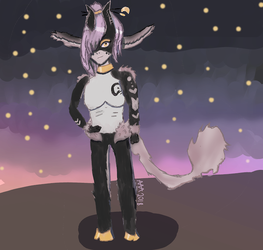 Morning Shadow (contest entry for CerRia) by AlphaAlpacaArt