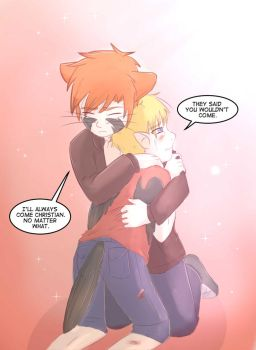 Ryan and Christian: I'll always come colour test by foxhat94