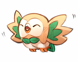 ROWLET by Deer-Head