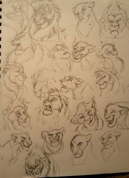 Expressions Practice by albinoraven666fanart