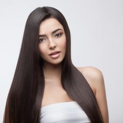 Girl with healthy long hair 1 by FozzyNetwork