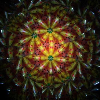 Kaleidoscope Flowers I by TheDreamsOfTheAges