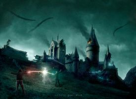 Battle of Hogwarts 3 by rodolfoguerreiro