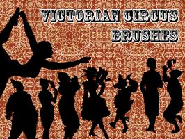 Victorian Circus Brushes by ElleOVE