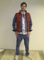 Marty McFly cosplay by EgonEagle