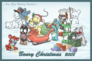 Beary Christmas 2008 by Sanaril