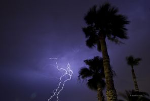 Wind and Lightning by DavidMCoyle