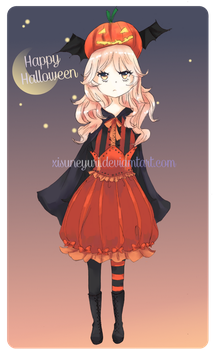 Puimcin: Happy Halloween! by xisue
