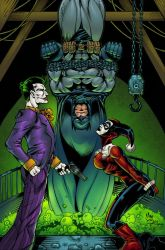Batman bound for trouble by AlonsoEspinoza