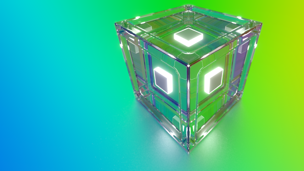 Cube by 16777216
