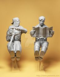 Steampunk Racers resin kit