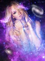 Goddess of Galaxies by ZituKX