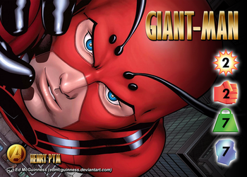 Giant-Man (Henry Pym) Character by overpower-3rd