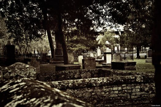 Stone Wall Cemetery by kmkessick