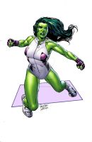 SheHulk by MooseBaumann