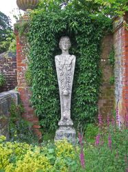 Ivy Statue Alcove 03 by fuguestock