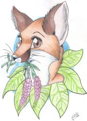 Picked you a flower by FigoFox