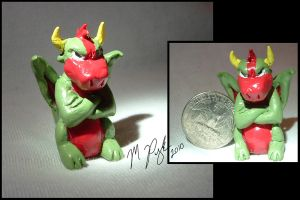 Tiny Zeek Statue by MelmelDraws