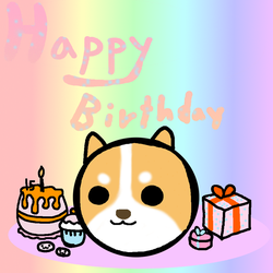 BIRTHDAY TIME :D by TheSkyFox03