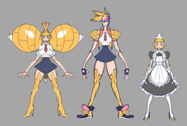 Monster Girl Universe: Bee Bee Bee by Bokcutter