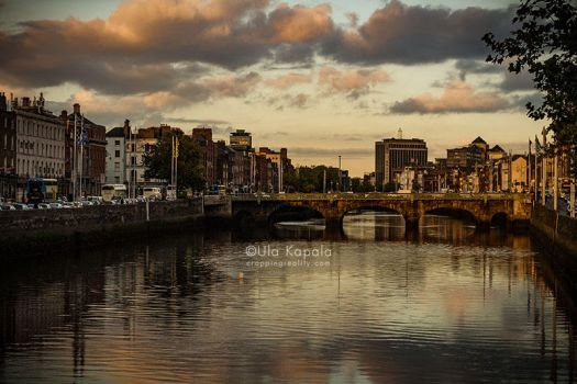 Dublin Sunset 1 by ukapala