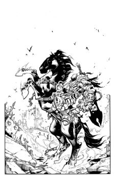 Joe Mad Darksiders inks by antalas