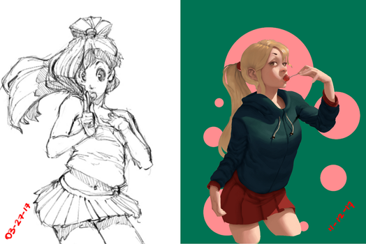 Draw it again! (march 2017 - December 2017) by z4m97