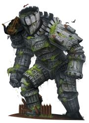 Beastiary 4 - Stone Colossus by damie-m