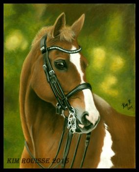 Horse Pastel by Kim1486