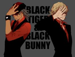 BlackTiger_BlackBunny by Zoo-chan