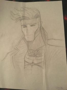Gambit from Marvel by curiouscow273