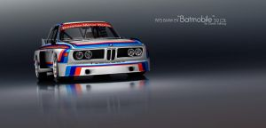 BMW E9 Batmobile CSL by DanielTalhaug