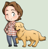 SPN Dogs #02 by NessaSan