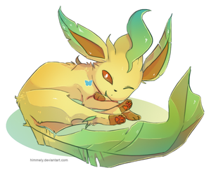 Leafeon by Himmely