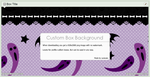 Halloween Party Box Background by LaraLeeL