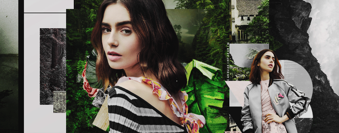 Lily Collins by CansuAkn