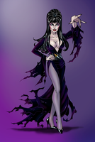 Elvira Mistress of the Dark by MrOrozco