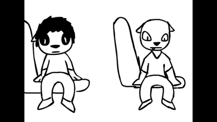 Ben and Vince (Flash animation for class) by greg11922