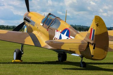 Curtiss P-40F Warhawk by Daniel-Wales-Images