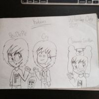YouTubers by Riyana2