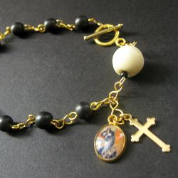 Sacred Vow Rosary Bracelet by Gilliauna